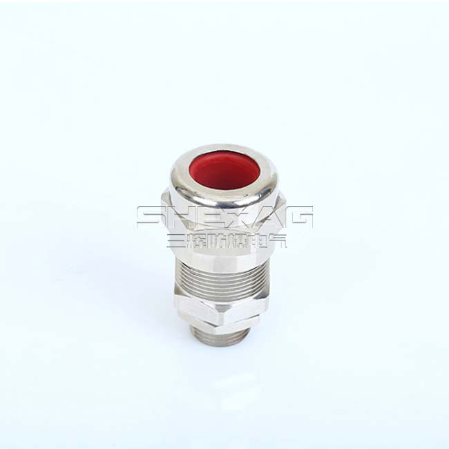 SHBDM-2 SINGLE SEAL EXPLOSION-PROOF ARMORED CABLE GLANDS