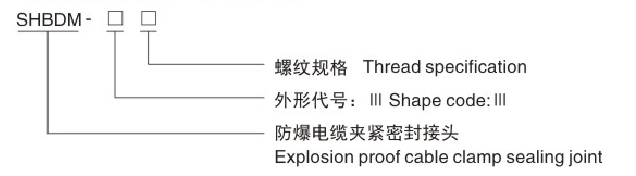 SHBDM-21 SINGLE SEALED ARMORED EXPLOSION-PROOF CABLE GLANDS
