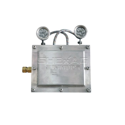 Nameplate marking and installation of explosion-proof lamps