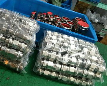 We Exported Double Sealed Explosion Proof Cable Gland Successfully