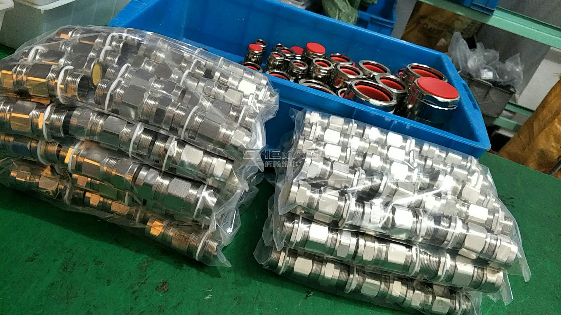 Double Sealed Explosion Proof Cable Gland