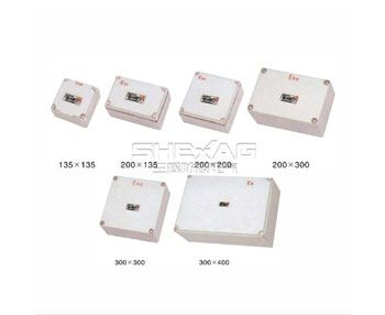 Explosion proof wiring box installation method